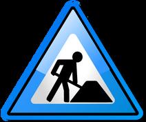 Under construction icon-blue