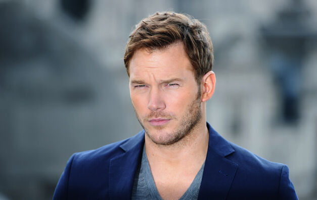"LONDON, UNITED KINGDOM - JULY 25: Chris Pratt attends the ""Guardians of the Galacy"" photocall on July 25, 2014 in London, England. (Photo by Stuart C. Wilson/Getty Images) ORG XMIT: 502697067"