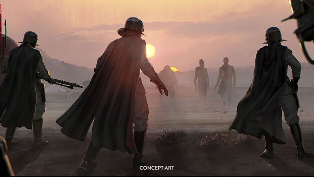 Visceral Star Wars Game concept art