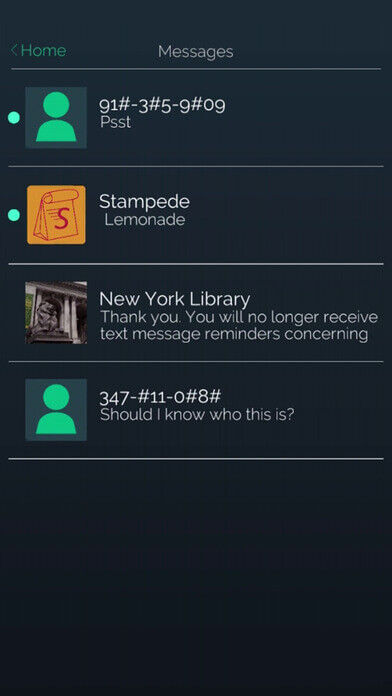 contacts screenshot on ios from Mr Robot Telltale game