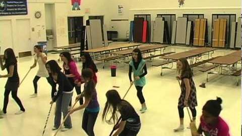 Annie Rehearsal footage