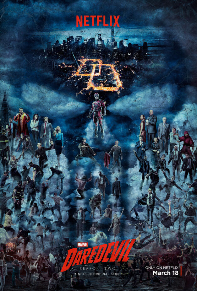 daredevil season two poster