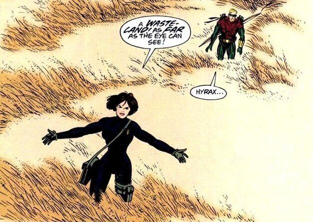 Green Arrow Villain Hyrax (2)