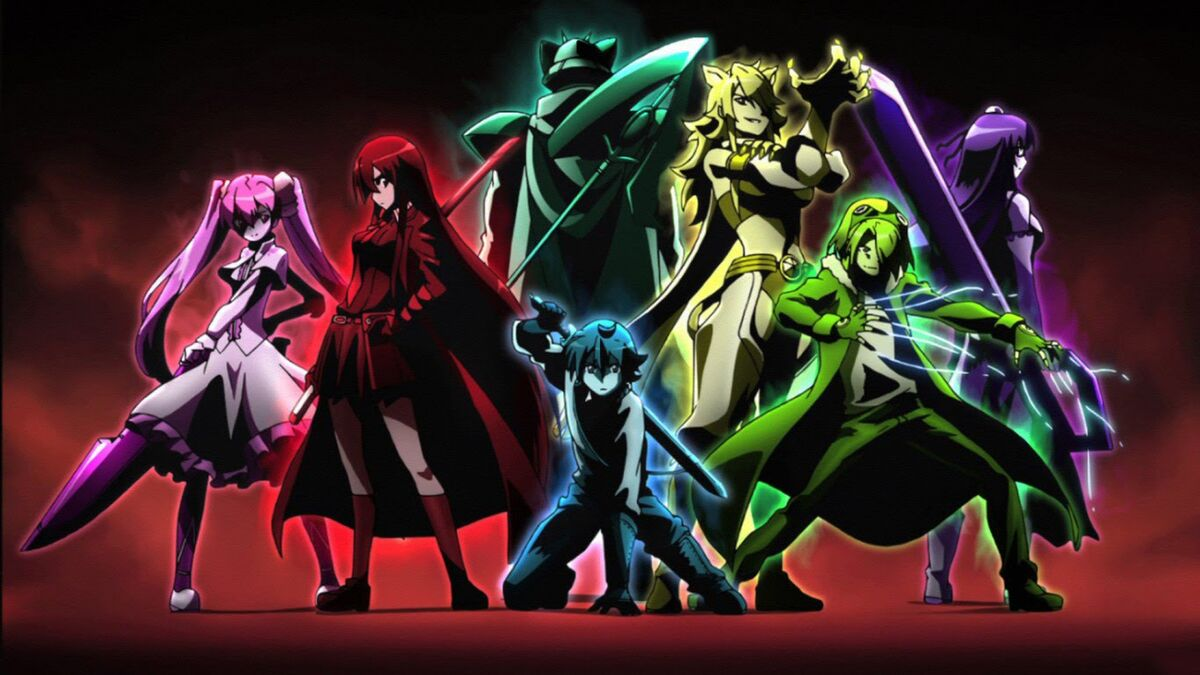 anime best rebels Night Raid from Akame Ga Kill!