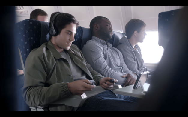 Nintendo Switch Joy-Con Controller On Plane