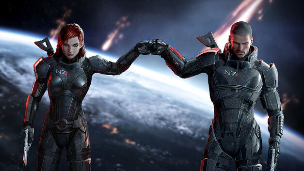 Mass Effect Commander Shepard