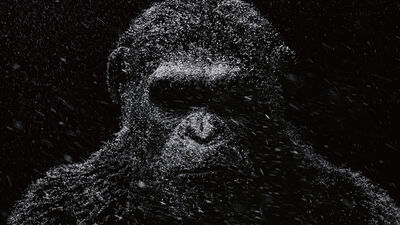 NYCC: 'War for the Planet of the Apes' Digital Billboard