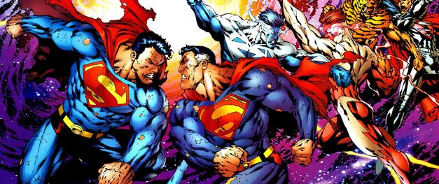 Superman vs Superman Infinite Crisis