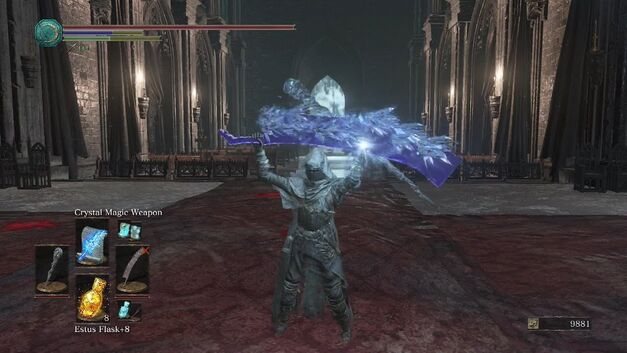 Crystal Magic Weapon Dark Souls 3