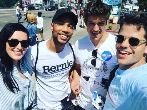 Teen Wolf News Daniel Sharman Max Carver Bernie Supporter
