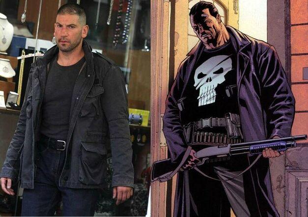Jon Bernthal and Punisher