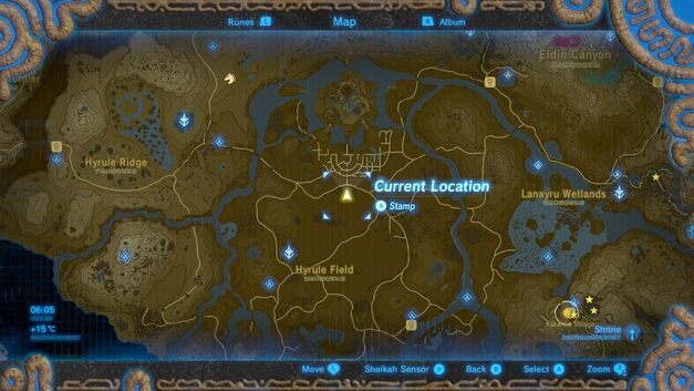 Breath of the Wild Captured Memories – Memory 1 - Sacred Ground Ruins