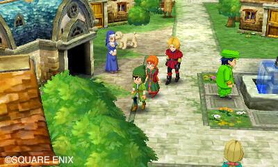 Dragon Quest VII 7 SDCC