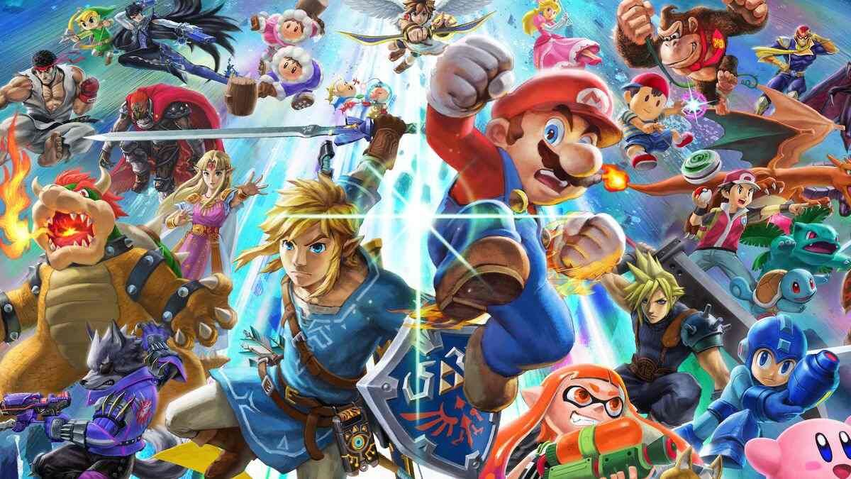 Mario Link characters Super Smash Bros Ultimate Switch