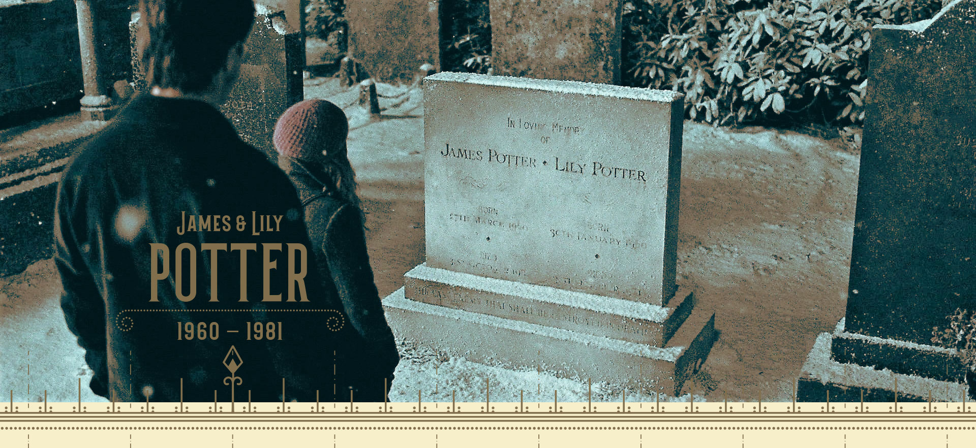 Graves of James and Lily Potter