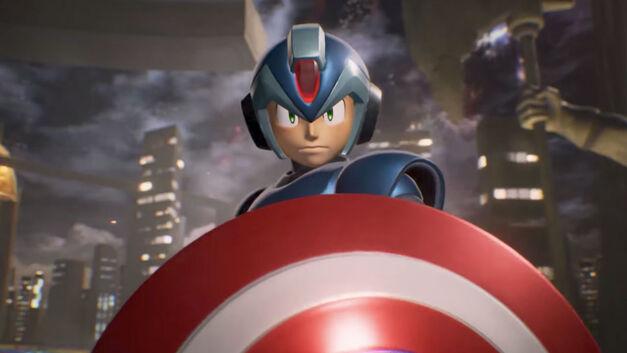 Mega Man X – Marvel vs Capcom Infinite Roster