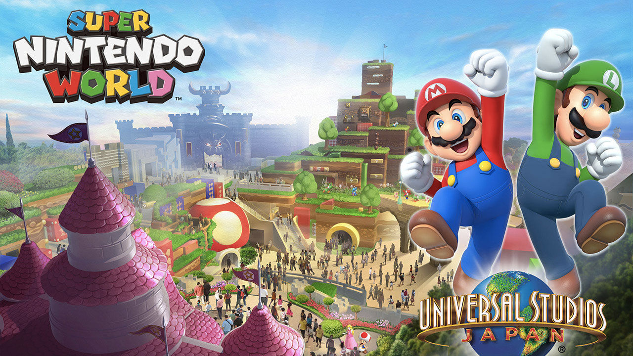 Super Nintendo World Theme Park Could Give You Real Life Mario