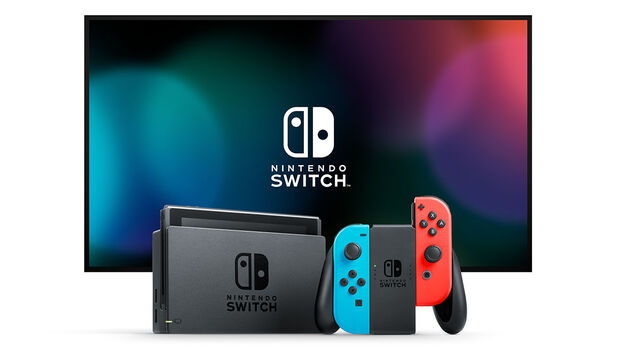 Nintendo Switch with TV