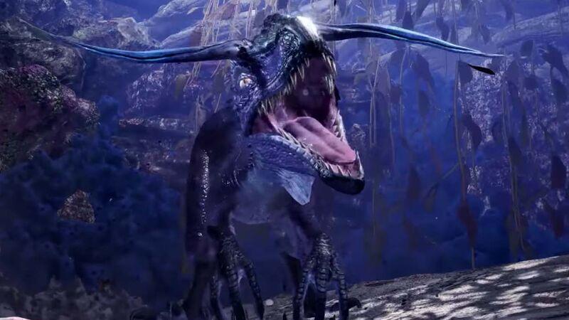 Monster Hunter: World smaller enemy