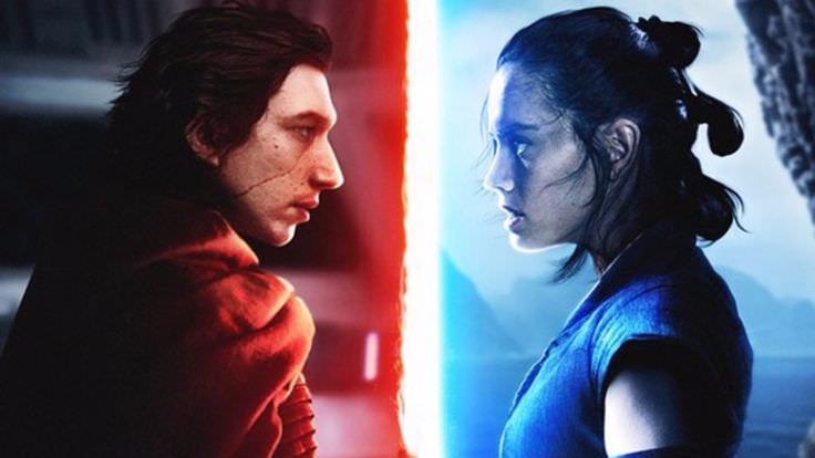 Star Wars: The Last Jedi kylo ren rey