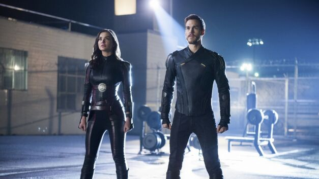 Saturn Girl and Mon-El