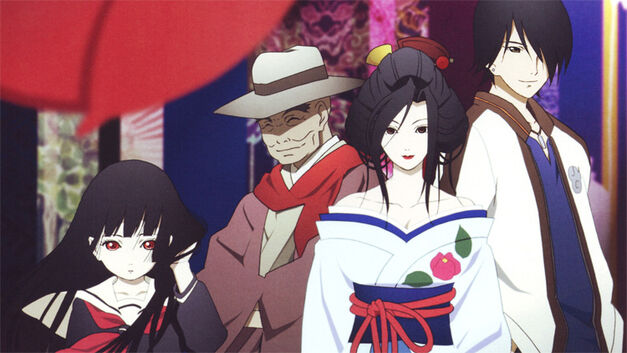 anime not available crunchyroll or other streaming services hell girl