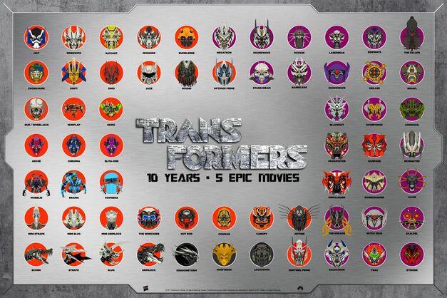 Transformers 10th anniversary