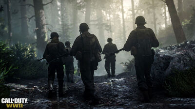 'Call of Duty: WWII' is Taking Players Back to Boots on the Ground Combat