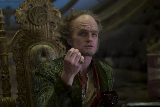 Count Olaf in A Series of Unfortunate Events