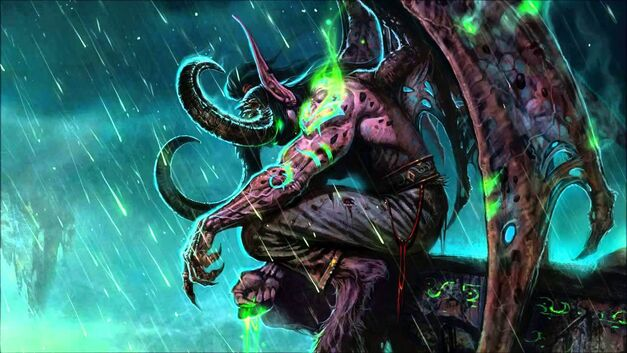 Illidan Stormrage-World-of-Warcraft-Legion-Lore
