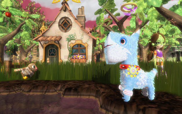 A screenshot of Viva Pinata.