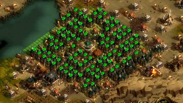 They Are Billions Market Bank Town optimal