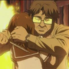 Tahara tries to kill Mai.