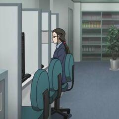 Misaki accesses the <a href=