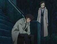 S2E7 Misaki Kirihara and Genma Shizume