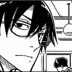 Hei undercover in the manga