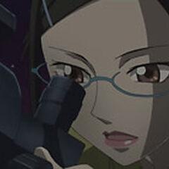 Misaki stargazing.