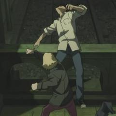 Jean attacks Hei.
