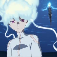 Yin as Izanami.