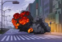 S1E15 April blown up