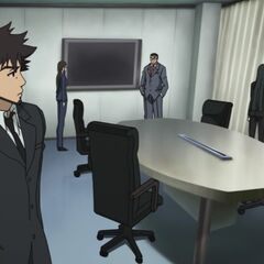 Misaki confronts Kobayashi about the Mikata Documents.