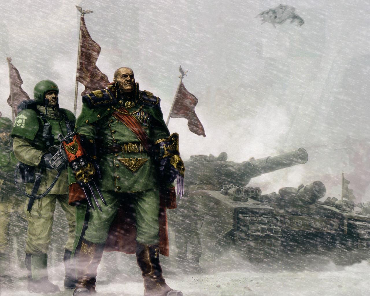 Imperial Guard Dawn Of War Wiki Fandom