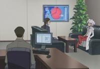 S1E24 Misaki and Schroeder listen to Nishijima
