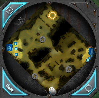 Dow2 minimap fury of the hive mind gorge