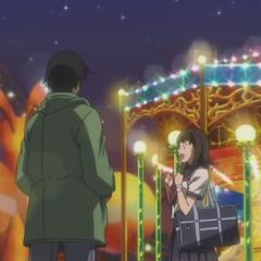 Hei brings Mai to a carnival.