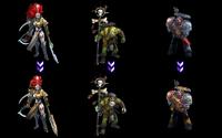 Mastery skins