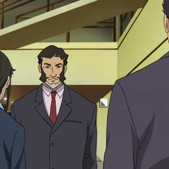 Yoshimitsu Horai tells Misaki to follow <a href=