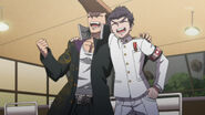 Danganronpa-04-mondo oowada-kiyotaka ishimaru-biker-perfect-buds-pals-laughing-friends-brotherhood