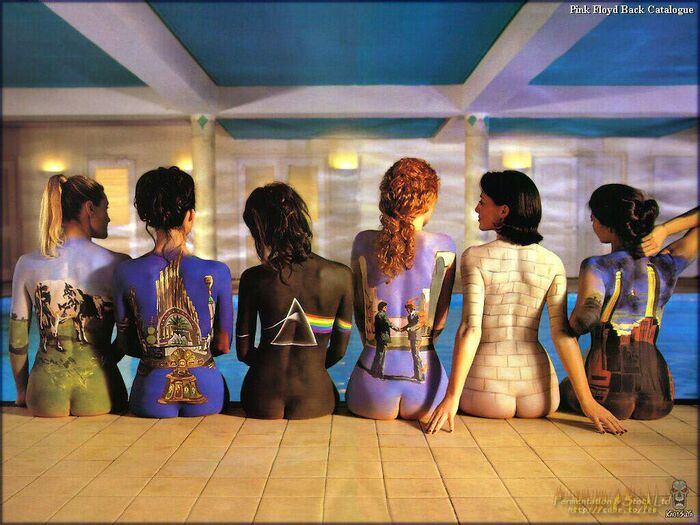 Pink floyd album collection