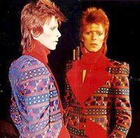 Big david bowie ziggy stardust